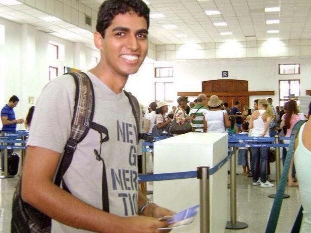 Edgar viajou para Nepal no dia 25 de fevereiro (Foto: Reprodução/Rede social)