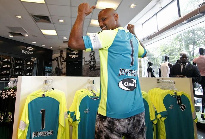 3554930883 Botafogo lança camisa especial para Jefferson