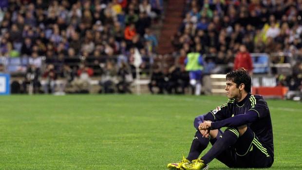 Kaká jogo Real Madrid Zaragoza (Foto: Reuters)