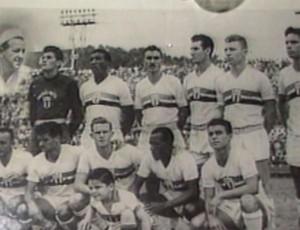 Uniforme do Botafogo usado em 1956 (Foto: Reprodução/EPTV)