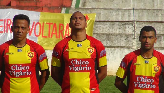 Aloísio Chulapa, atacante do Sport Atalaia (Foto: Leonardo Freire/GloboEsporte.com)