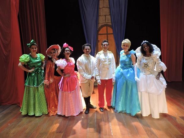 'Cinderella - o sonho se realiza' (Foto: Divulgação/Teatro Gacemss)