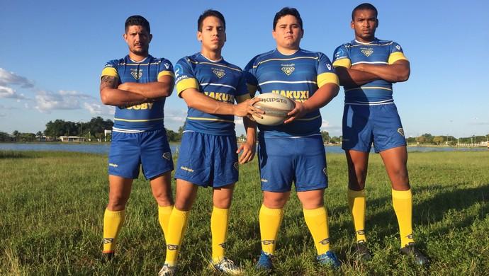 Jogadores de Roraima representam a seleção norte (Foto: Divulgação)