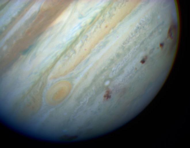O sistema solar já teve 5 planetas gasosos – e Júpiter teria expulsado um deles