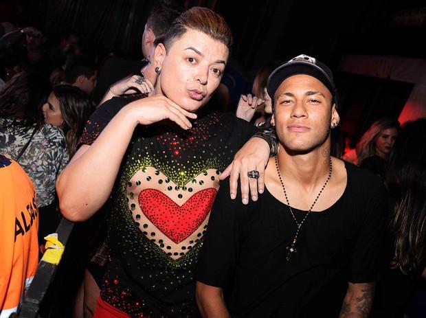 David Brazil e Neymar (Foto: Ari Kaye / Divulgação)
