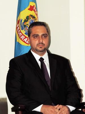 Novo delegado-chefe da Polícia Federal (PF) em Santos, Júlio César Baida Filho (Foto: Divulgação/Associação Comercial de Santos)