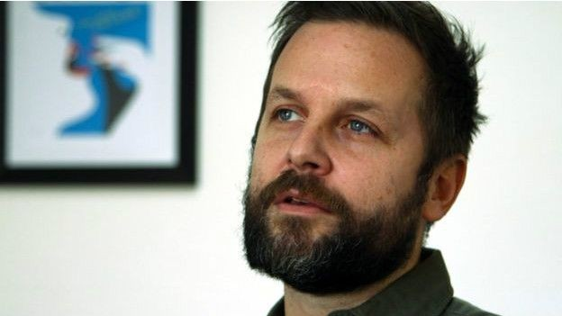 Publicitário Joachim Roncin criou a ilustração icônica  (Foto: Da BBC)