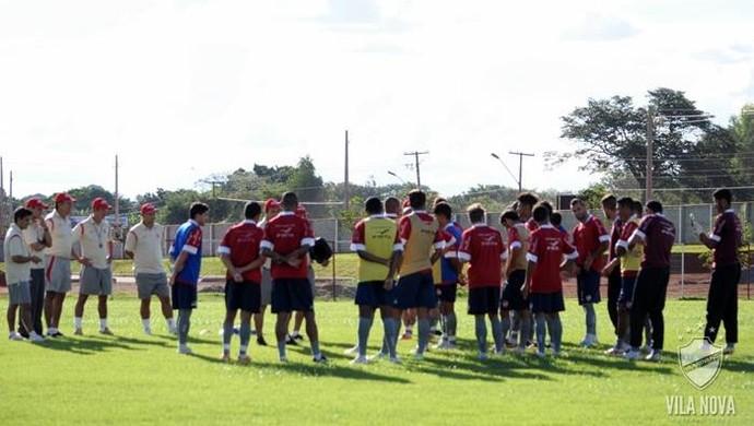 Vila Nova - treino (Foto: Divulgação / Vila Nova Futebol Clube)