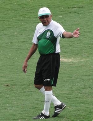 Givanildo Oliveira, técnico do América-MG (Foto: Guilherme Frossard)