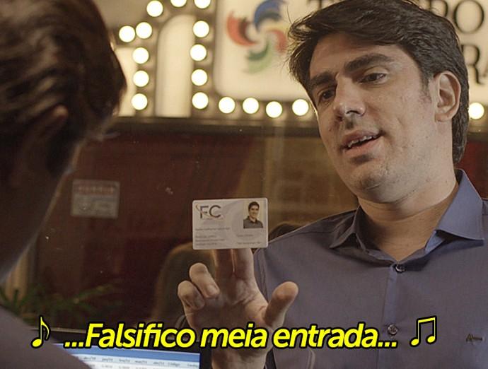 Tá no Ar faz paródia com música de Gonzaguinha (Foto: TV Globo)