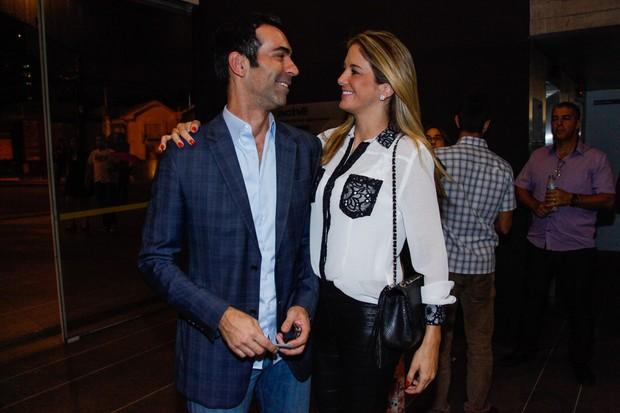 Ticiane Pinheiro e Cesar Tralli (Foto: Manuela Scarpa e Marcos Ribas/Photo Rio News)