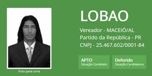 Ficha de Lobão (Foto: Reprodução/TSE)