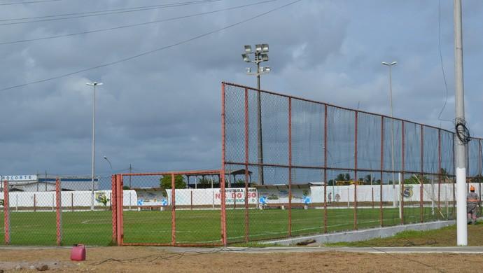 Estádio Wellington Elias; Lelezão; Socorrense (Foto: Felipe Martins / GLOBOESPORTE.COM)