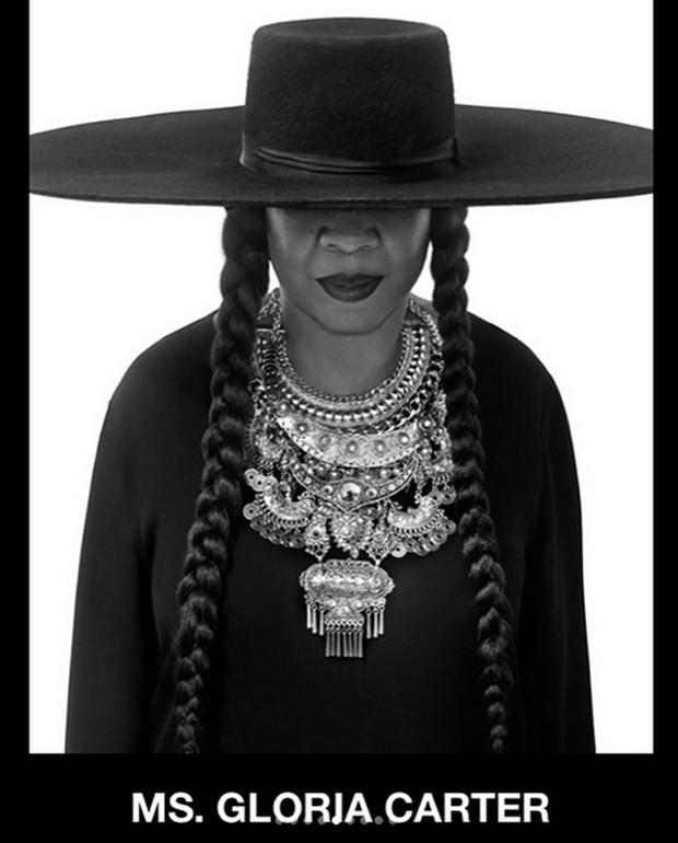 Glória Carter homenageia Beyoncé (Foto: Reprodução / Instagram)