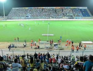 Horizonte x Palmeiras Domingão (Foto: Daniel Romeu / Globoesporte.com)