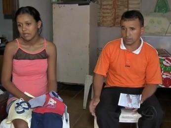 Pais acionaram a Justiça em busca de vaga de UTI para bebê. (Foto: Reprodução/ TVCA)