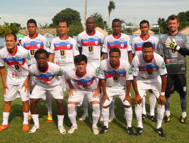 Equipe do São João da Barra (Foto: Fabio Menezes-ASCOM ECSJB)