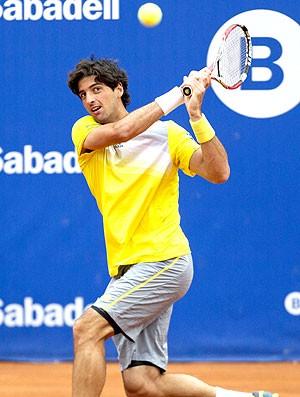 Thomaz Bellucci tênis contra Dmitry Tursunov (Foto: EFE)