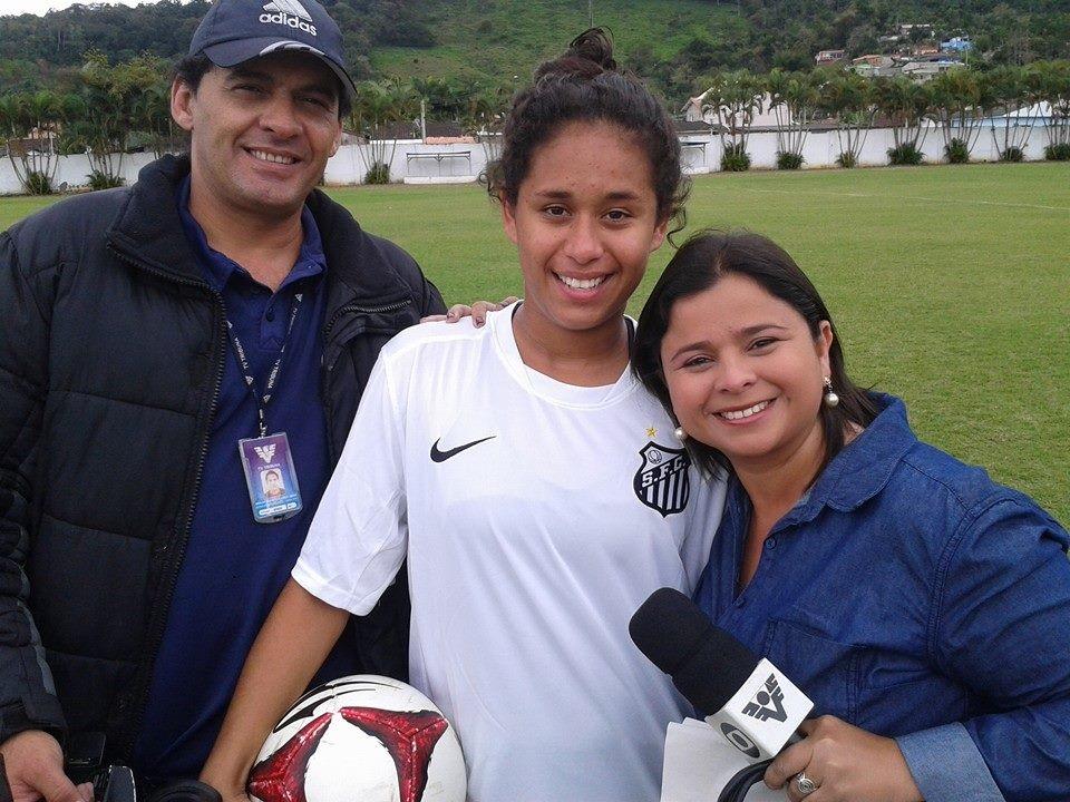 Rinaldo Rori, Raquel Domingues e Dione Aguiar (Foto: Arquivo Pessoal)