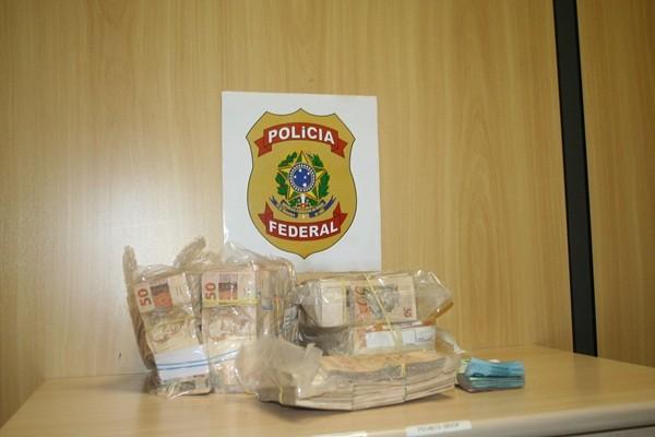 Dinheiro apreendido durante Operação Zelotes, da Polícia Federal (Foto: Divulgação)