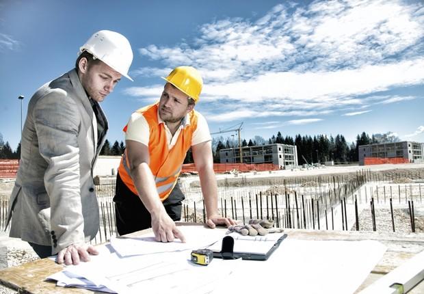 engenharia; construção (Foto: Thinkstock)