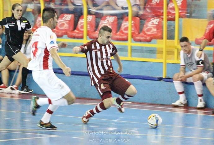 Caio Orlândia futsal (Foto: Márcio Damião/Divulgação)