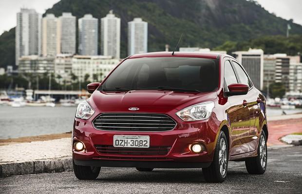 Motor Ford Ka+ 1.0 (Foto: Divulgação)