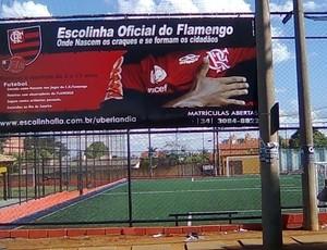 Escolinha do Flamento em Uberlândia (Foto: Divulgação)