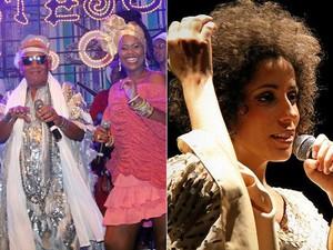 Marcia castro vai partiipar do ensaio do Cortejo Afro na próxima segunda-feira (22). (Foto: Arte/ G1)