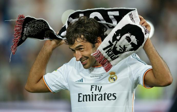 Raúl González Real Madrid (Foto: Getty Images)