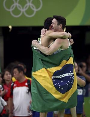 Diego Hypolito e Arthur Nory, ginástica Rio 2016 (Foto: Reuters)