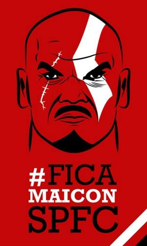 Campanha Fica Maicon (Foto: reprodução)