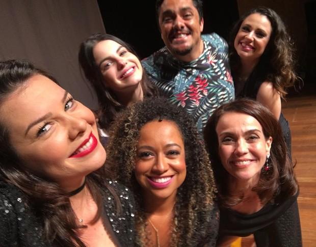 Fernanda Souza, Francis Helena, Sthefany brito, Flavia Monteiro (Foto: Reprodução/Instagram)