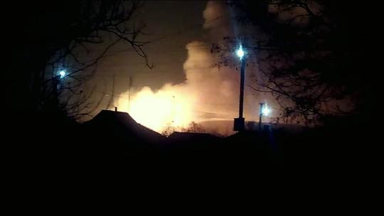 Explosão em depósito de munições esvazia cidade na Ucrânia