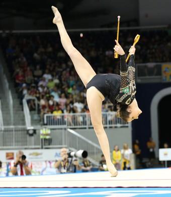 Natália Gaudio ginástica rítmica Jogos Pan Americanos Toronto 2015 (Foto: Saulo Cruz/Exemplus/COB)