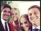 Encontro de casais! Huck posta foto com Angélica, Xuxa e Junno