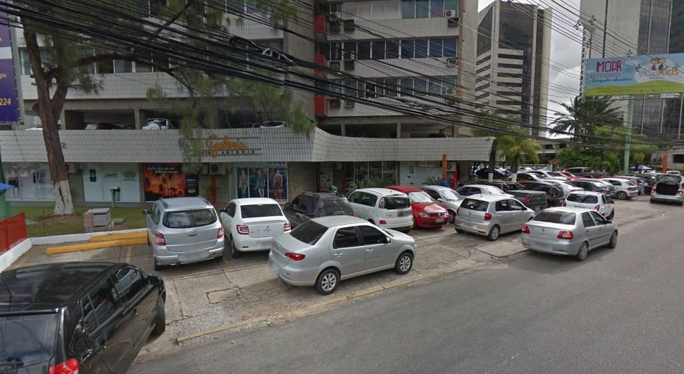 Caso ocorreu perto de um shopping, local bastante movimentado (Foto: Reprodução/Google Maps)