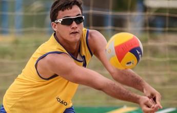Andressa e George ficam com título brasileiro de vôlei de praia Sub-23