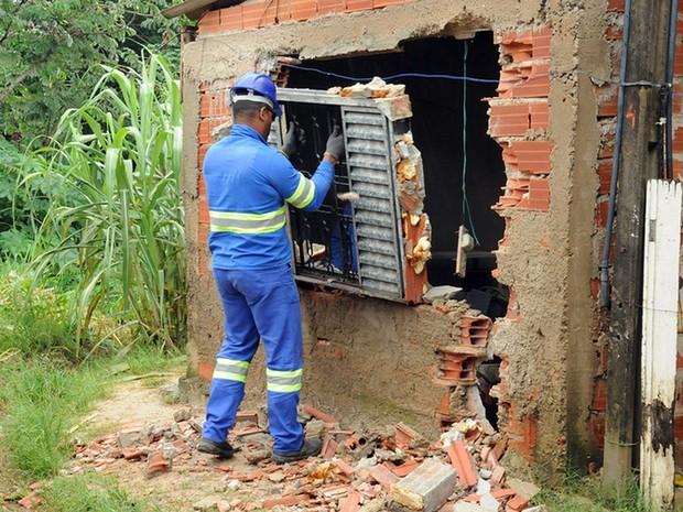 Defesa Civil retira moradores de área de risco em Campinas (Foto: Luiz Granzotto/Prefeitura de Campinas)