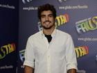 Caio Castro sobre Casadevall: 'Achei que ela seria cheia de não me toques'