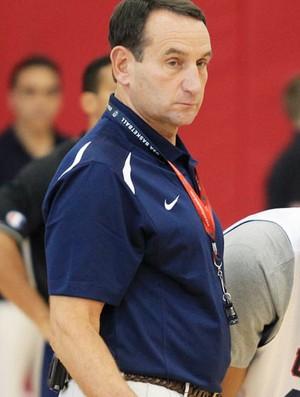 basquete EUA Mike Krzyzewski (Foto: Agência Reuters)