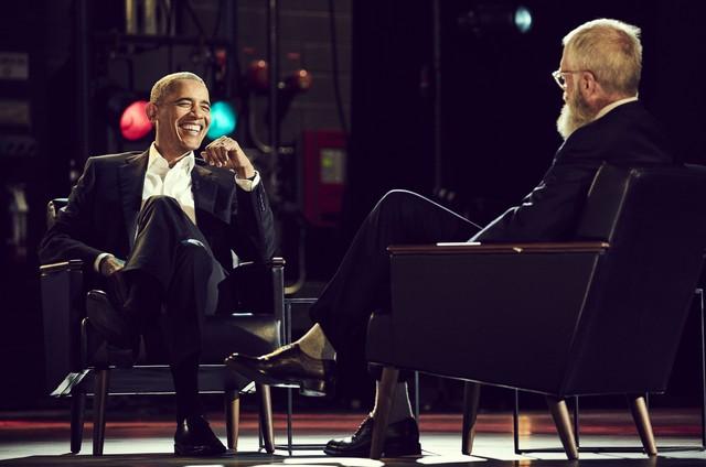 David Letterman e Barack Obama (Foto: Netflix)