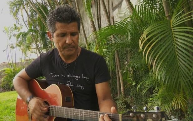 Márcio Alexandra é cantor há mais de 30 anos (Foto: Bom Dia Amazônia)