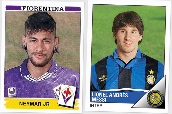 BLOG: Neymar na Fiorentina? CR7 no Brescia? Designer imagina craques no Italiano