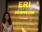 Fernanda Paes Leme vai à peça de Eri Johnson
