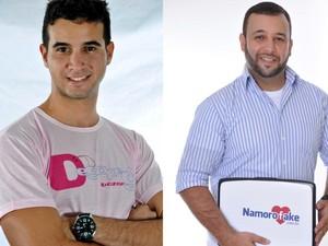 Os sócios Luis Vinicius Barreto e Flavio Estevam, fundadores do Fidelidade Face e do Namoro Fake (Foto: Reprodução/Divulgação)