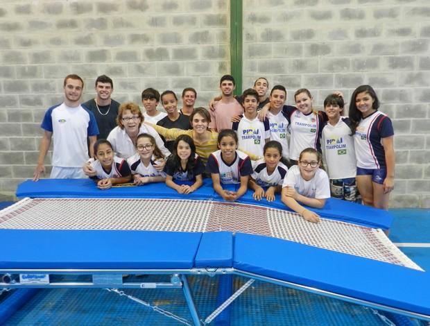 Equipe de ginastas de Piraí se prepara para Copa do Mundo e Mundial (Foto: Divulgação/PMP)