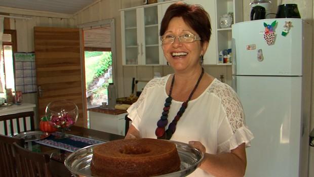 Caminhos do Campo deste domingo (10) ensina receita de bolo de milho (Foto:  Reprodução/RPC)