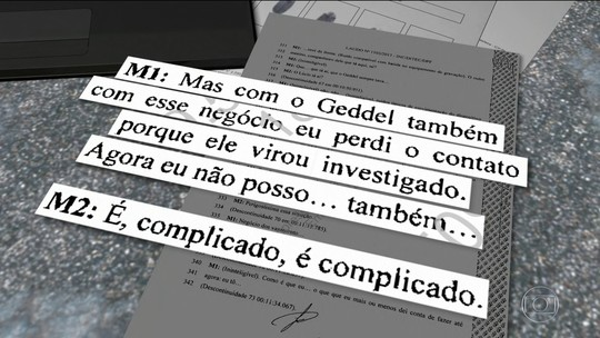 Geddel é citado nas conversas entre Michel Temer e Joesley Batista