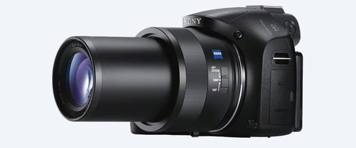 Noca câmera da Sony tem super zoom de até 100x (Foto: Divulgação/Sony)